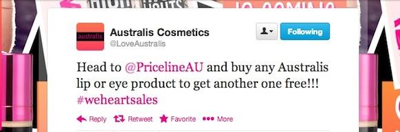 Australis Priceline Sale