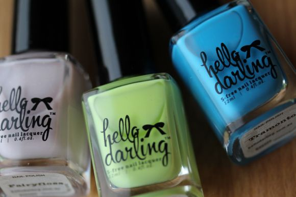 From left to right: Fairyfloss, Mint Slice & Tramonto