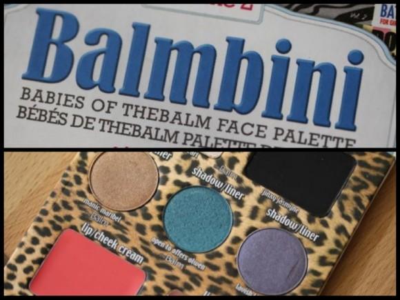 The Balm's Balmbini palette