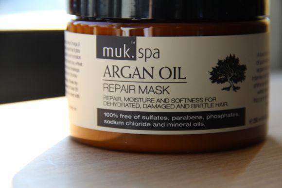 muk Spa Argan Oil Repair Mask