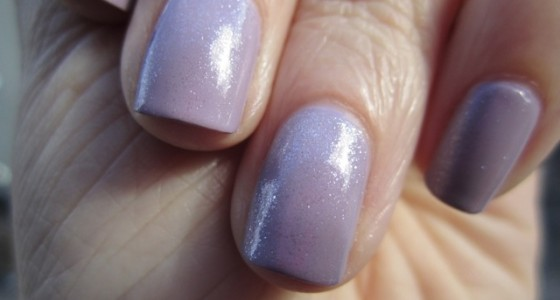 Essie Pure Pearlfection over Bangle Jangle