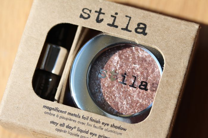 Stila's Magnificent Metals Foil Finish Eyeshadow