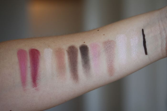 Bobbi & Katie swatches