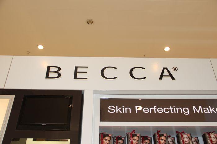 Becca @ David Jones in the heart of Melbourne's CBD