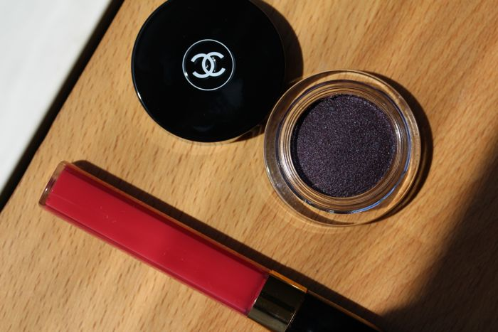 Chanel Illusion d'Ombre in Diapason and Glossimer in Sonate