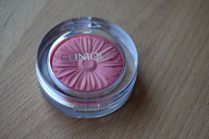 Clinique's Cheek Pop in Peach Pop