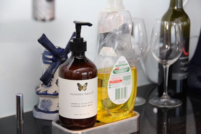 Keepin' it clean - Vanessa Megan's Lemon & Eucalyptus Foaming Hand Wash
