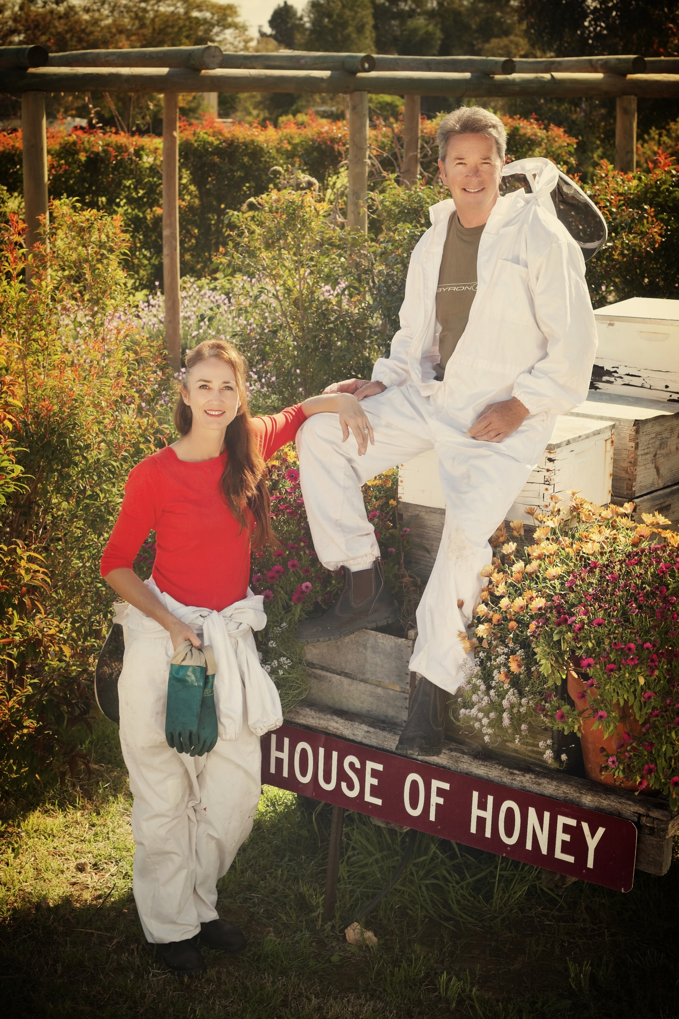 Rupert and Kim Phillips - Beekeepers at The House of Honey