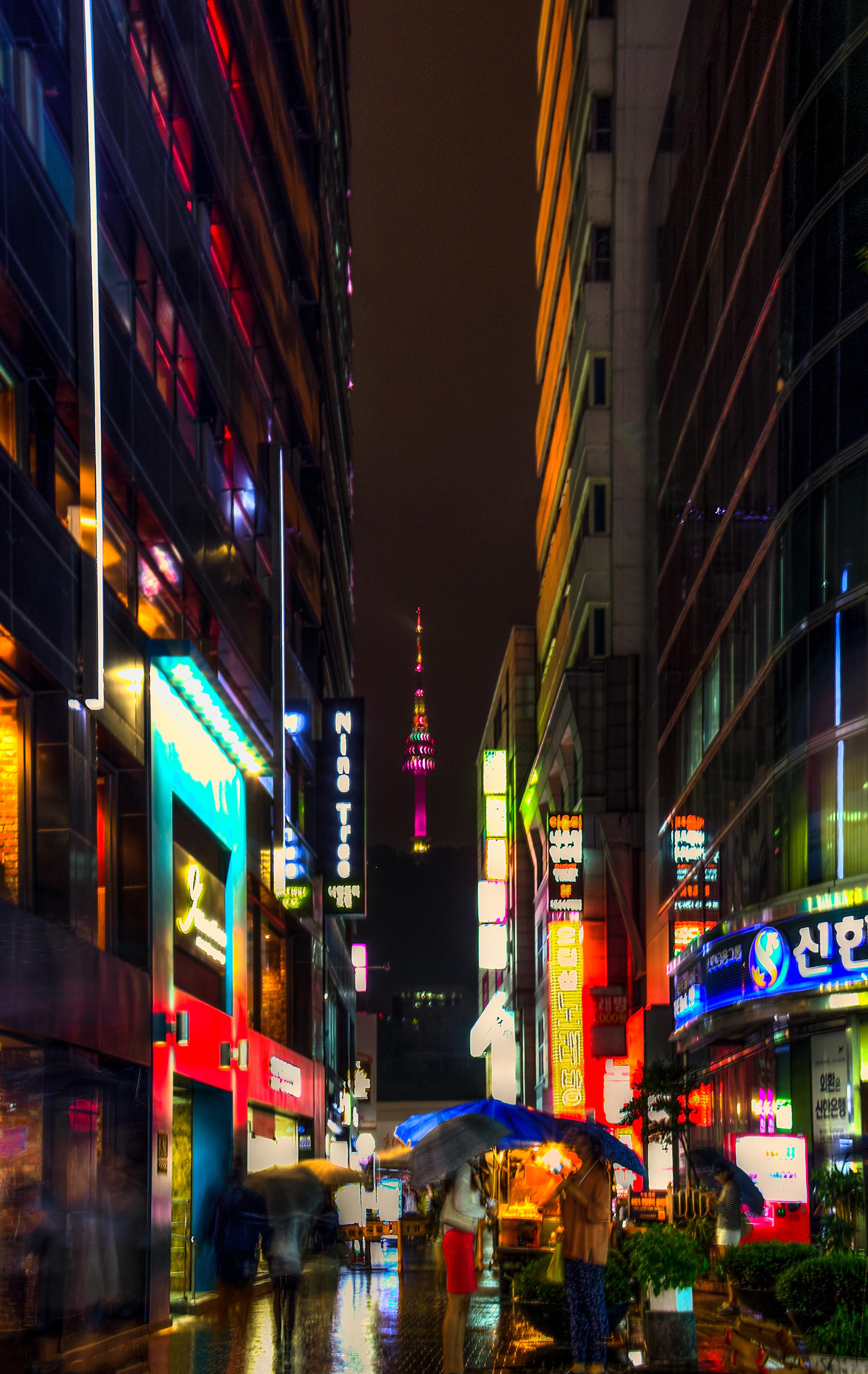 seoul de noche