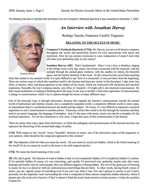 Click on image to read excerpt of interview