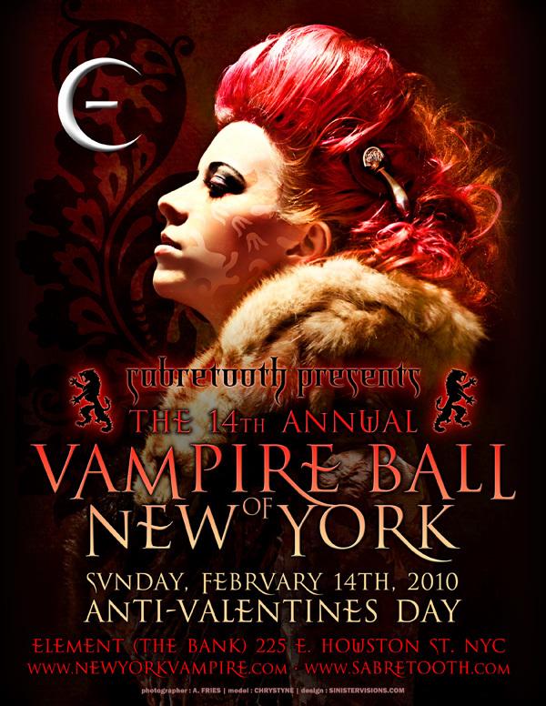 Chrystyne Endless Night Vampire Ball NYC