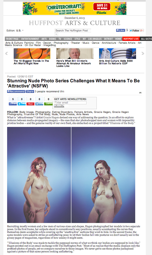Huffington Post Dec 6, 2013