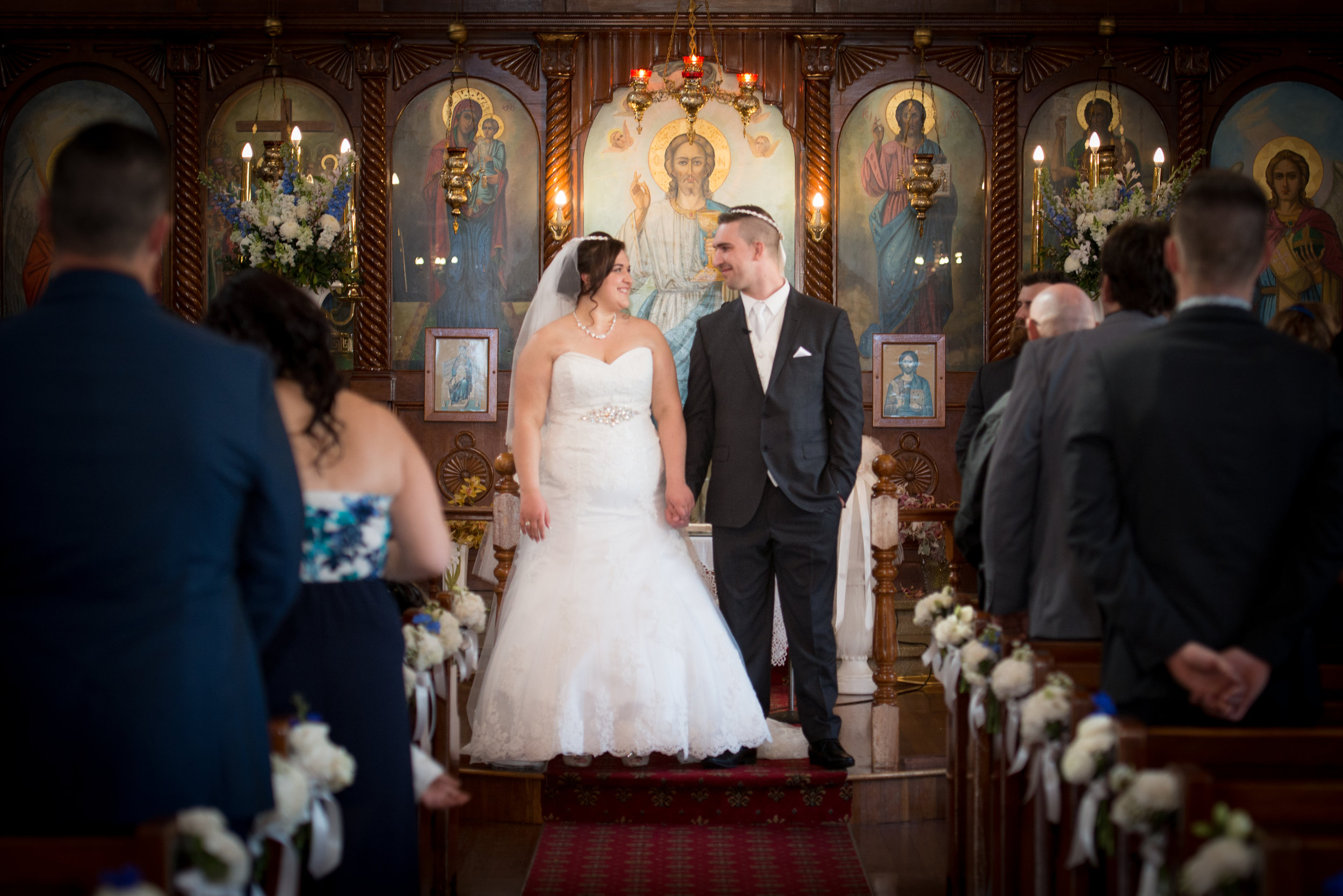 Michael & Anita, Greek Orthodox Church in Wollongong.jpg
