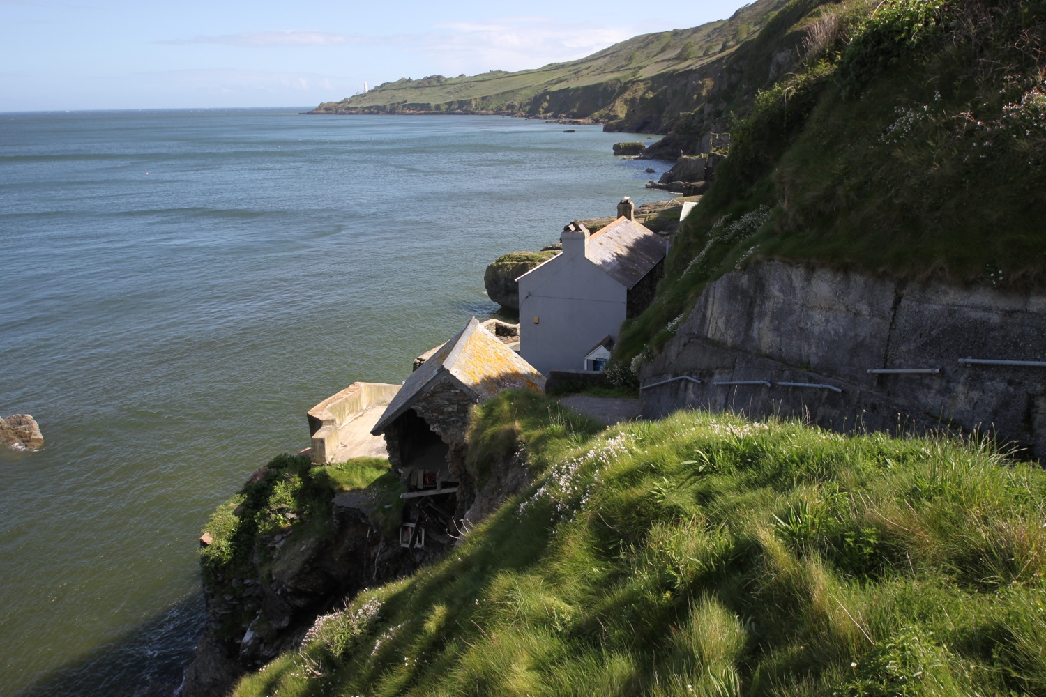 view from hallsands viewing platform