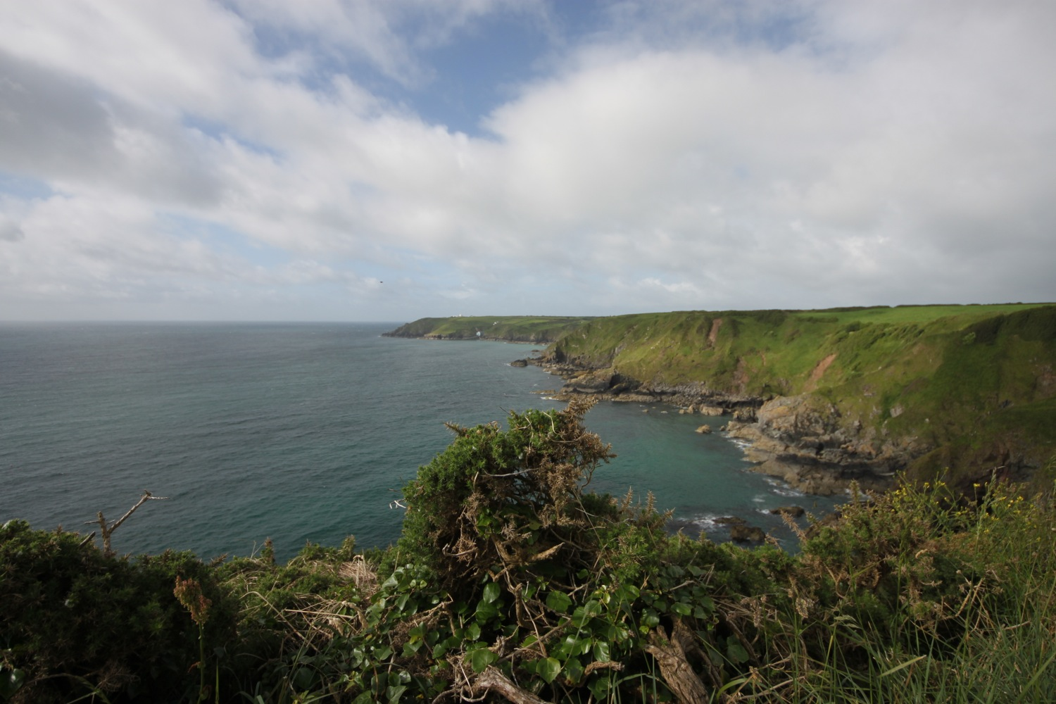the view back to lizard point