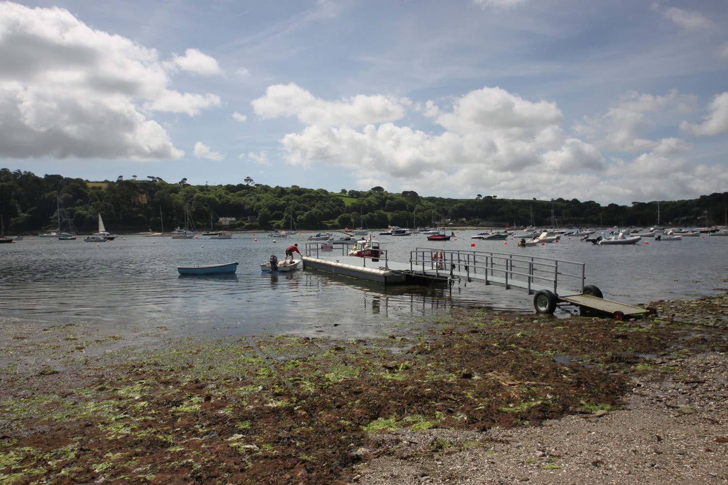 helford ferry at helford passage