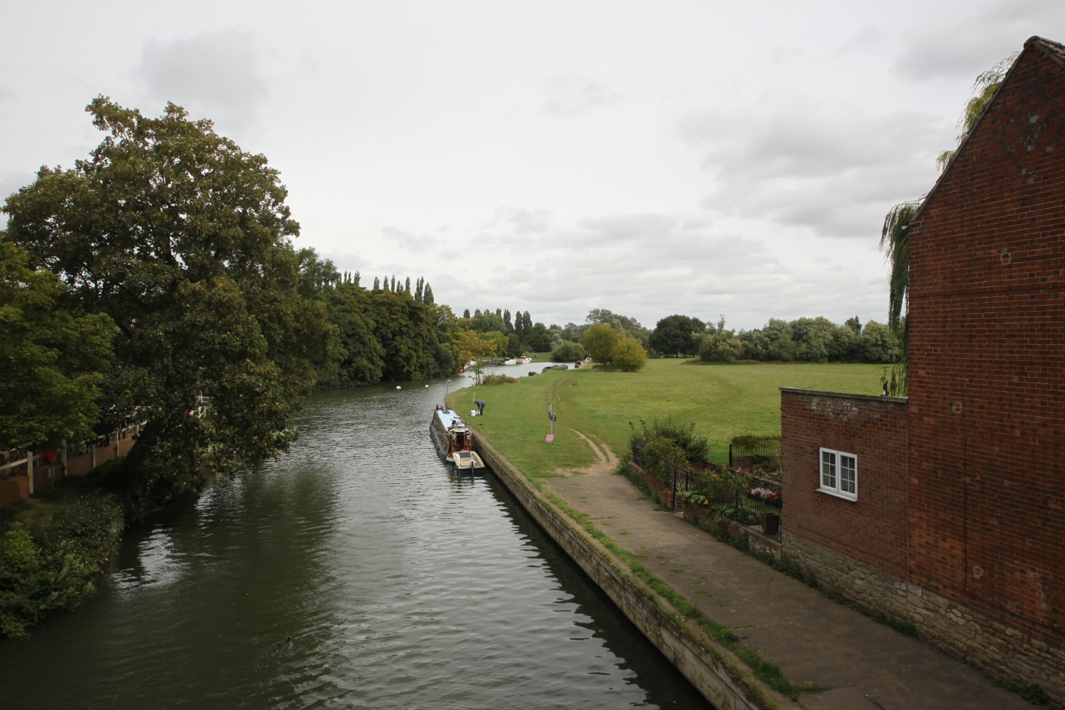 the view from abingdon bridge