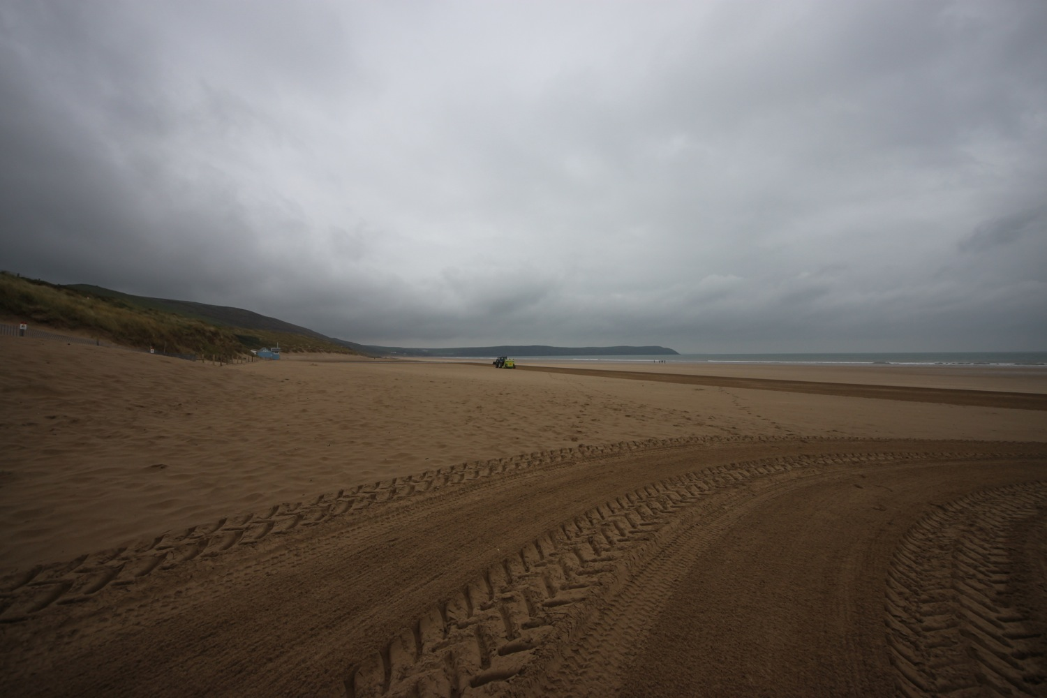 a dank and dreary woolacombe