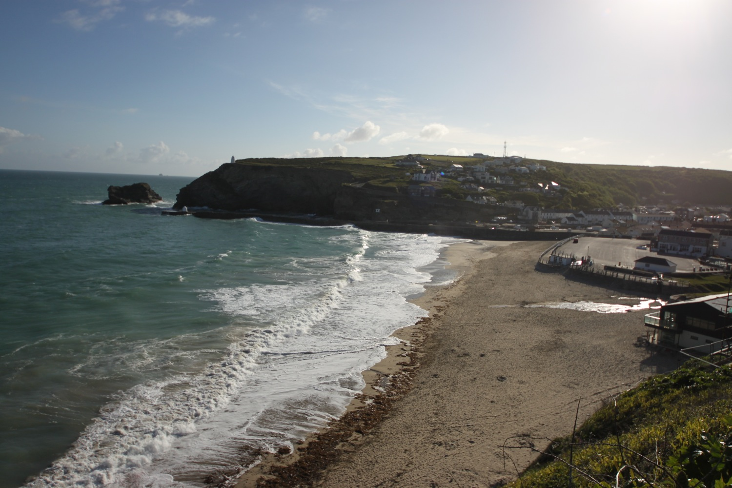 overlooking portreath