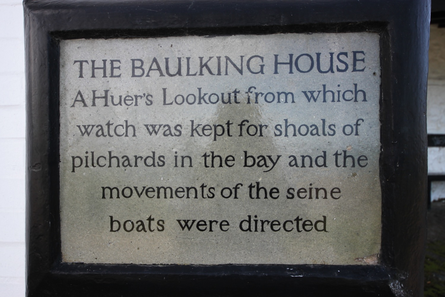 the baulking house