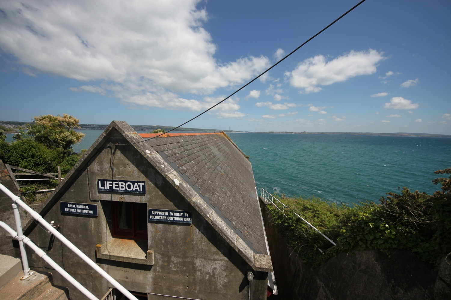 the old penlee lifeboat station