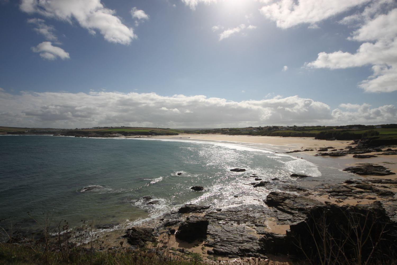 last look over harlyn bay