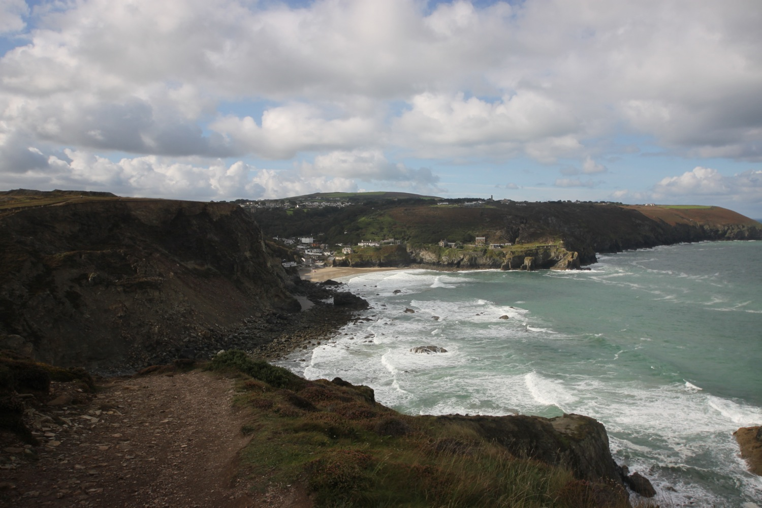 view over st agnes