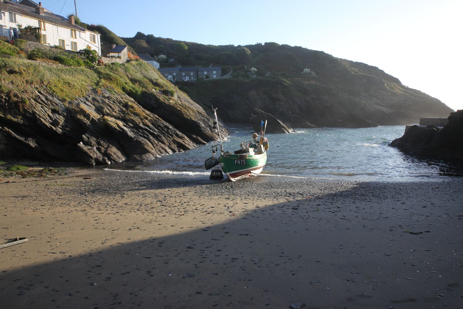 portloe fishing boat