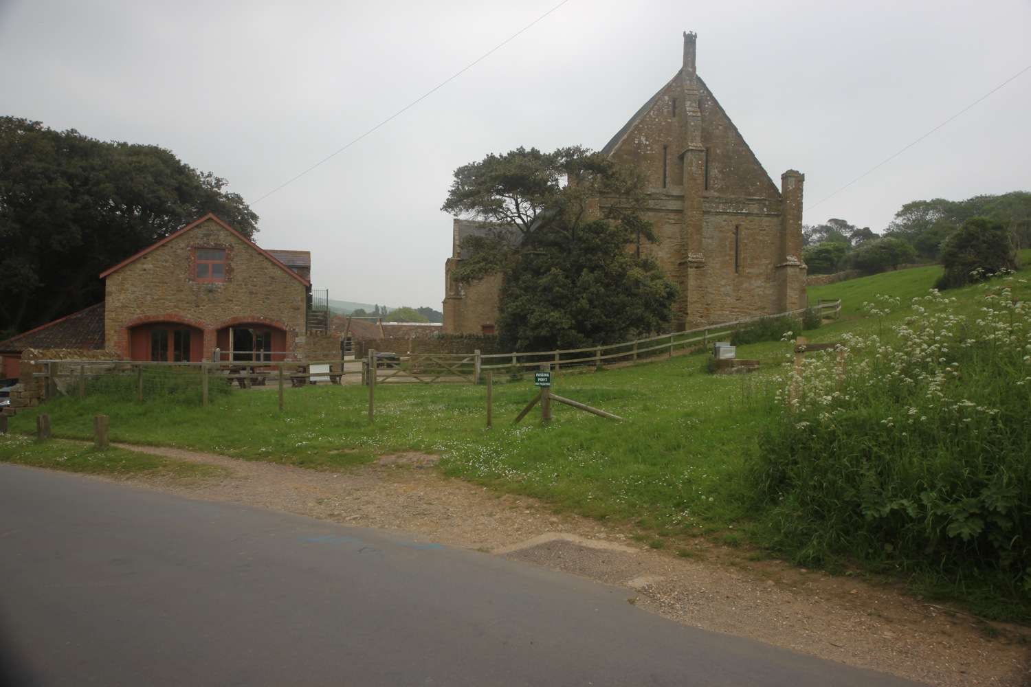 tithe barn and children's farm