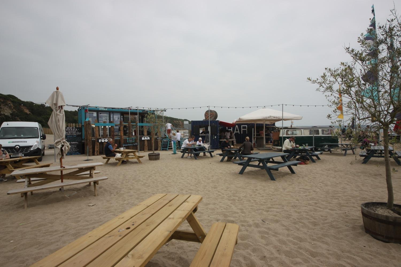 pop up shops on carlyon bay