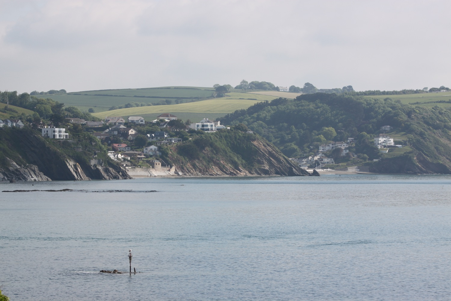 looking over to looe