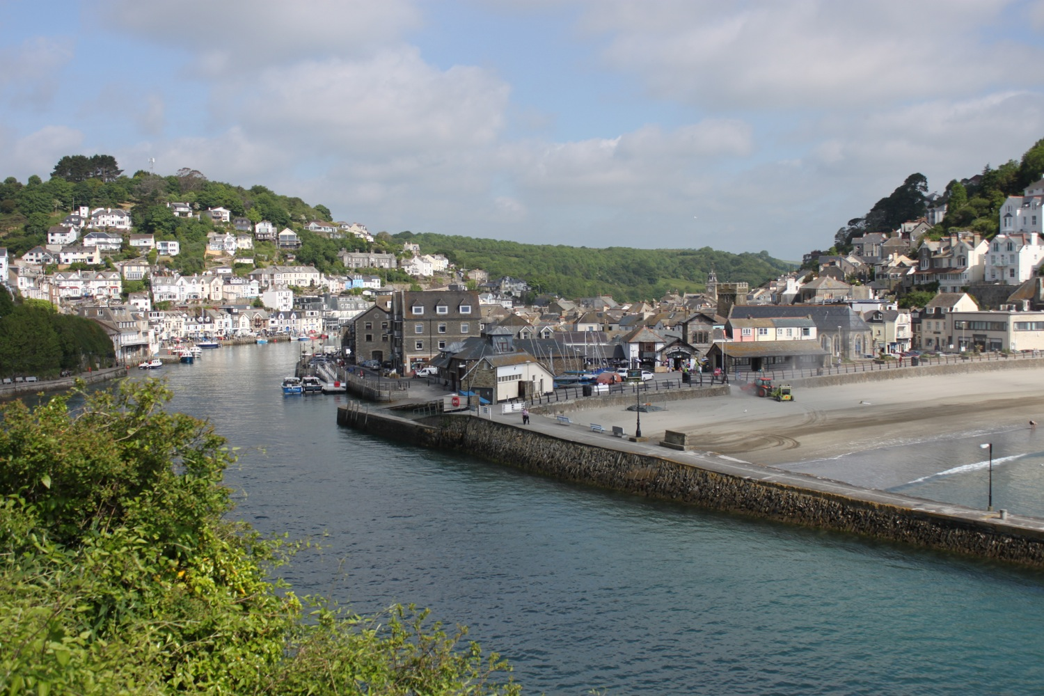 dropping down to looe