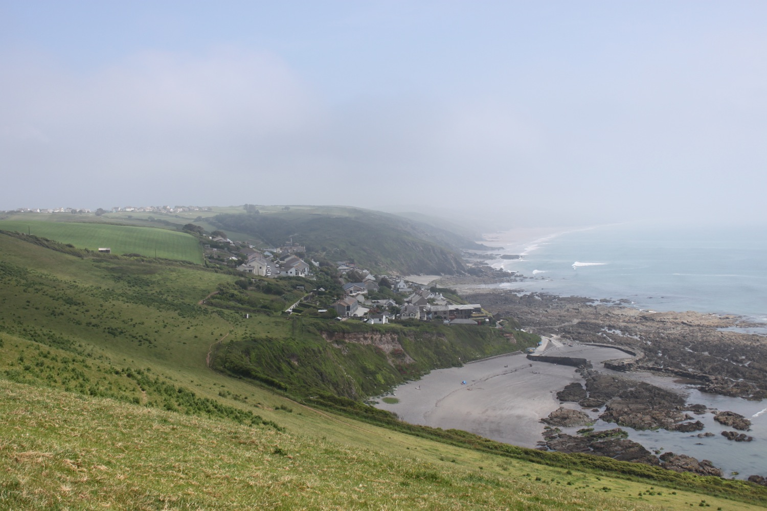 view over portwrinkle