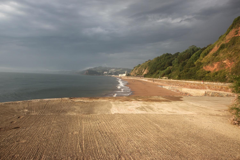 teignmouth sea wall