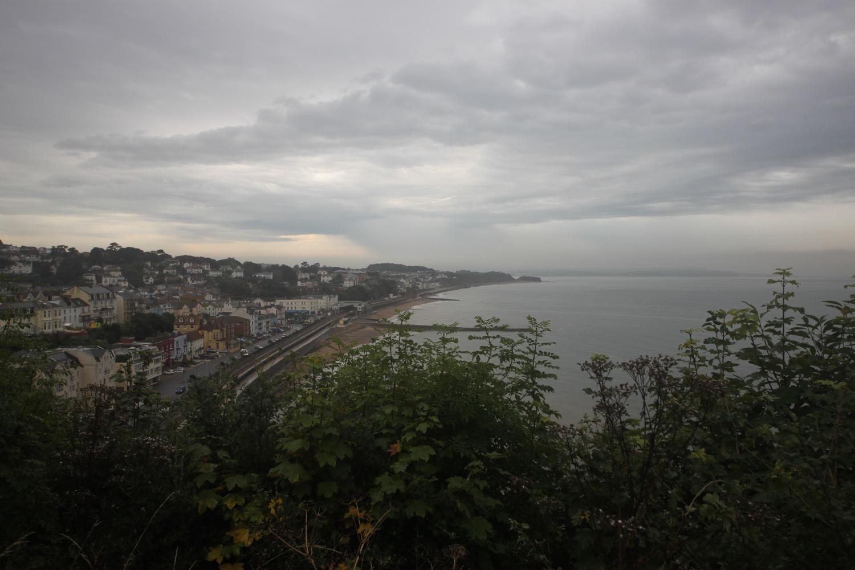 thunderstorms over dawlish