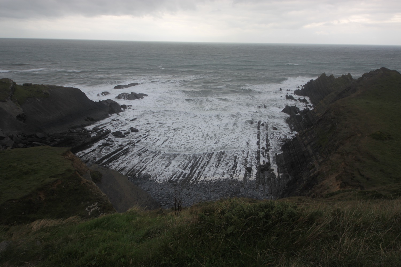 waves at hartland quay