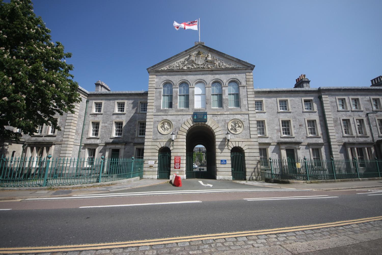 royal marine barracks