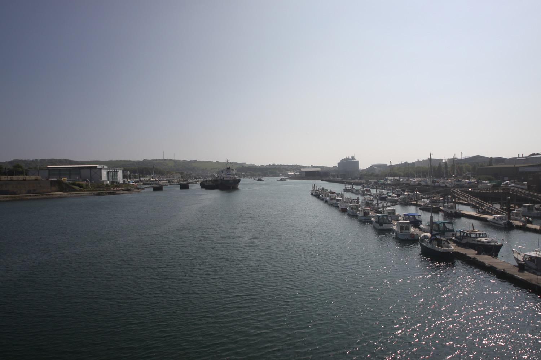 view from laira bridge