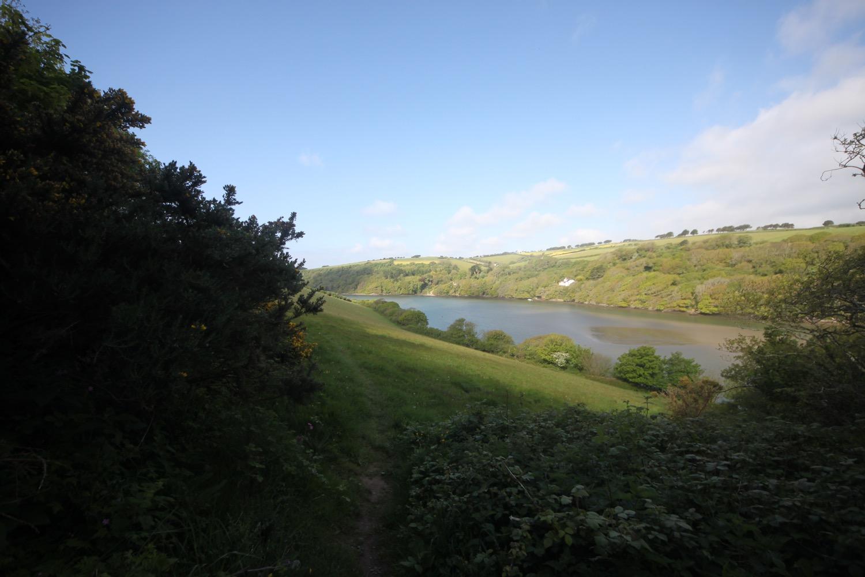 glimpse of the river avon