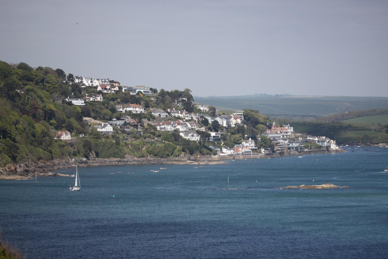 view over salcombe
