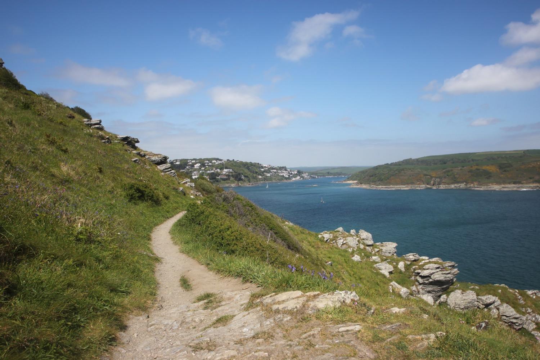 view towards salcombe