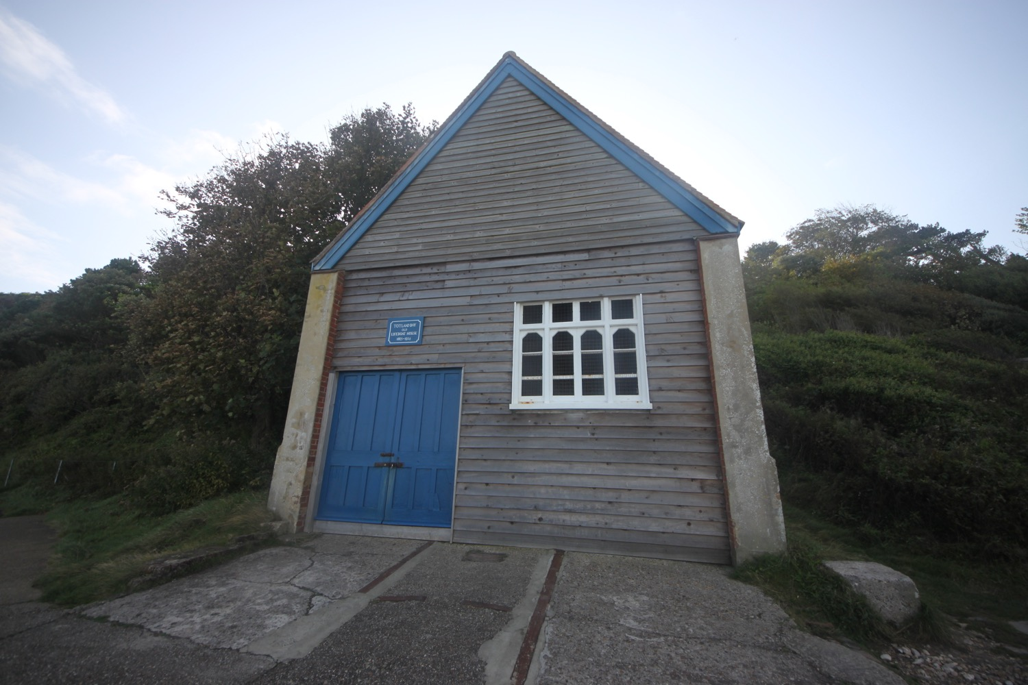 old totland bay lifeboat station