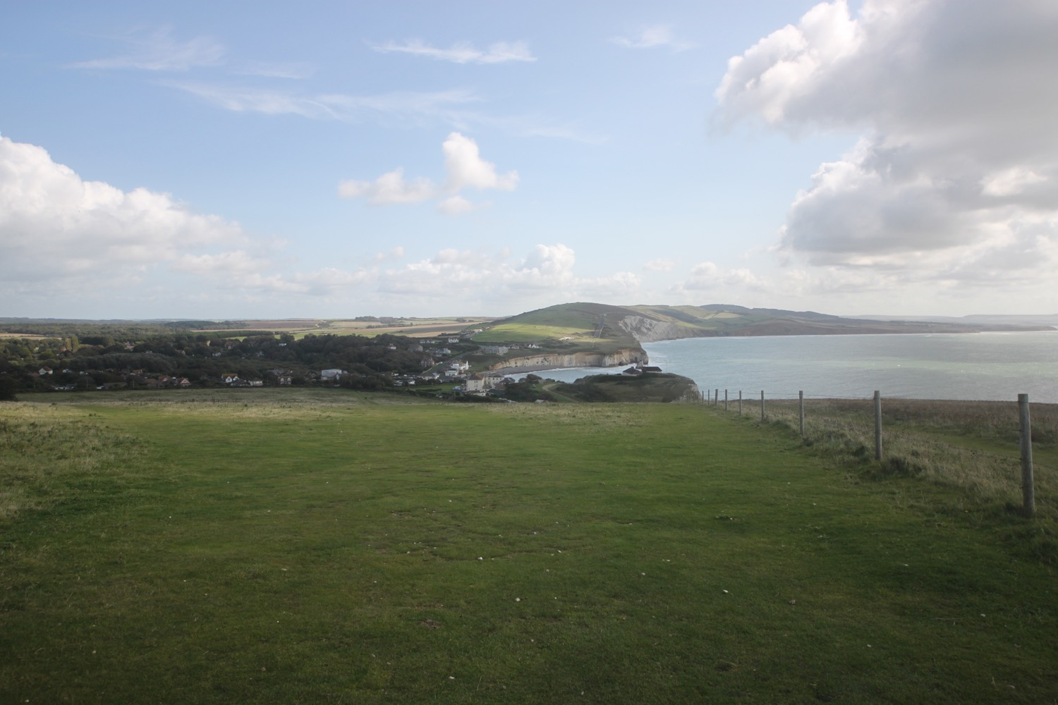 view over freshwater bay