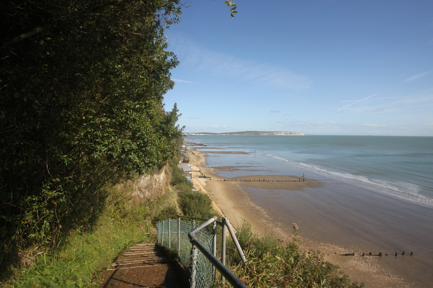 the view from appley steps