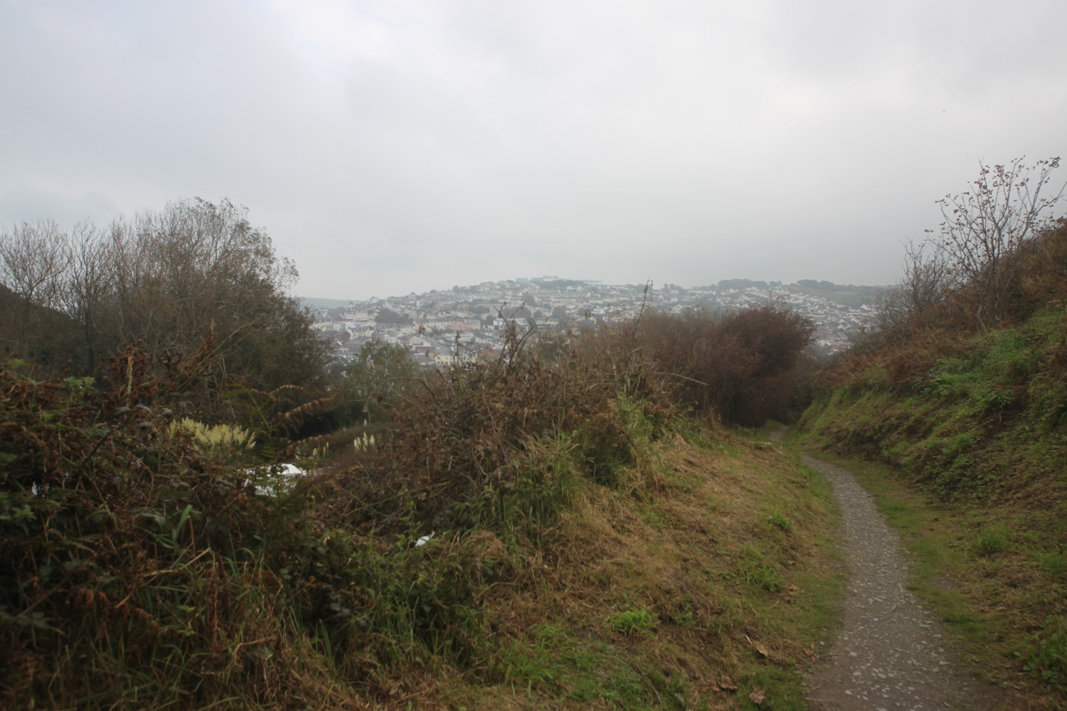 last view over ilfracombe