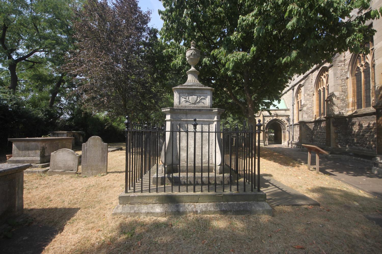 tomb of william hogarth
