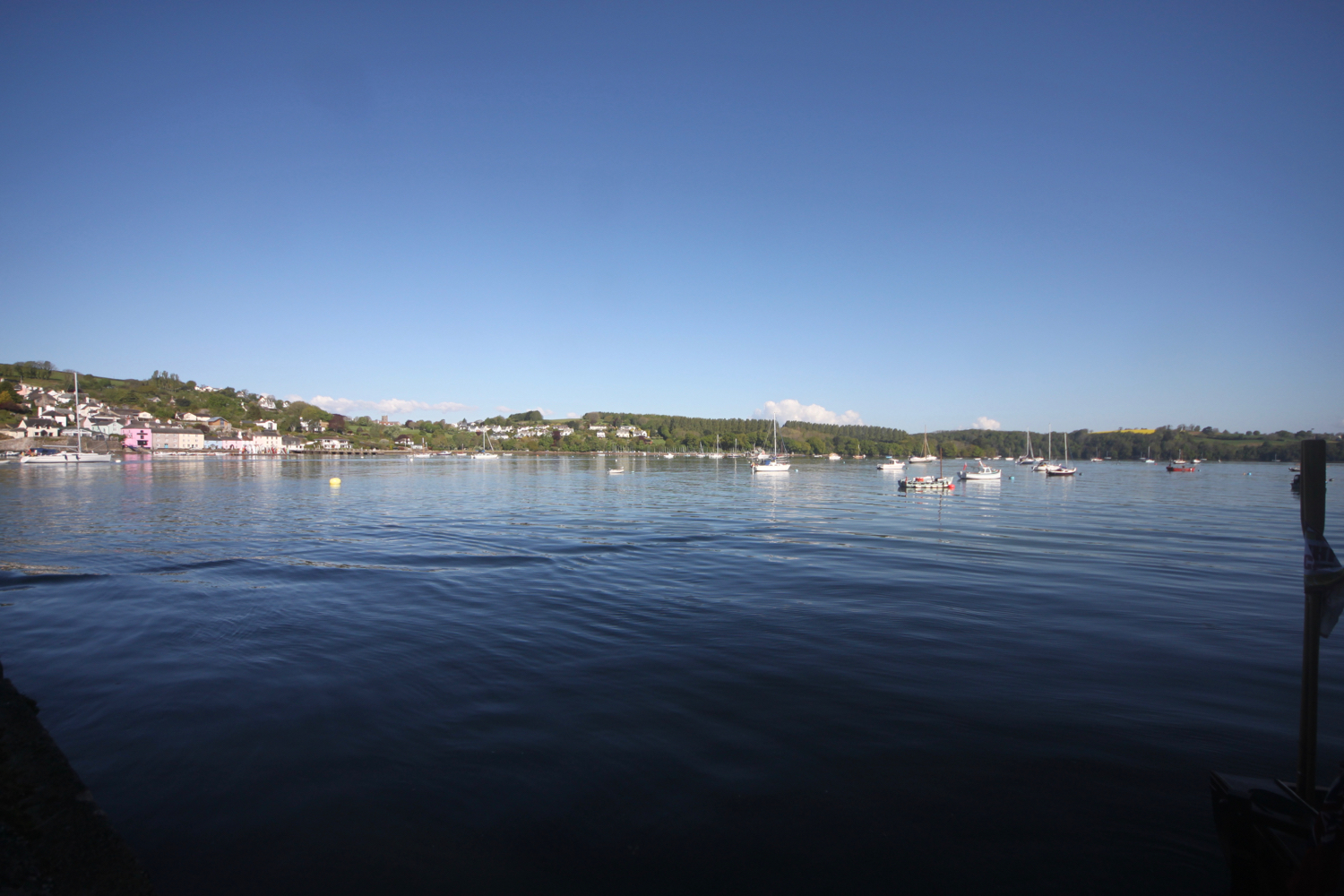 the view from greenway quay