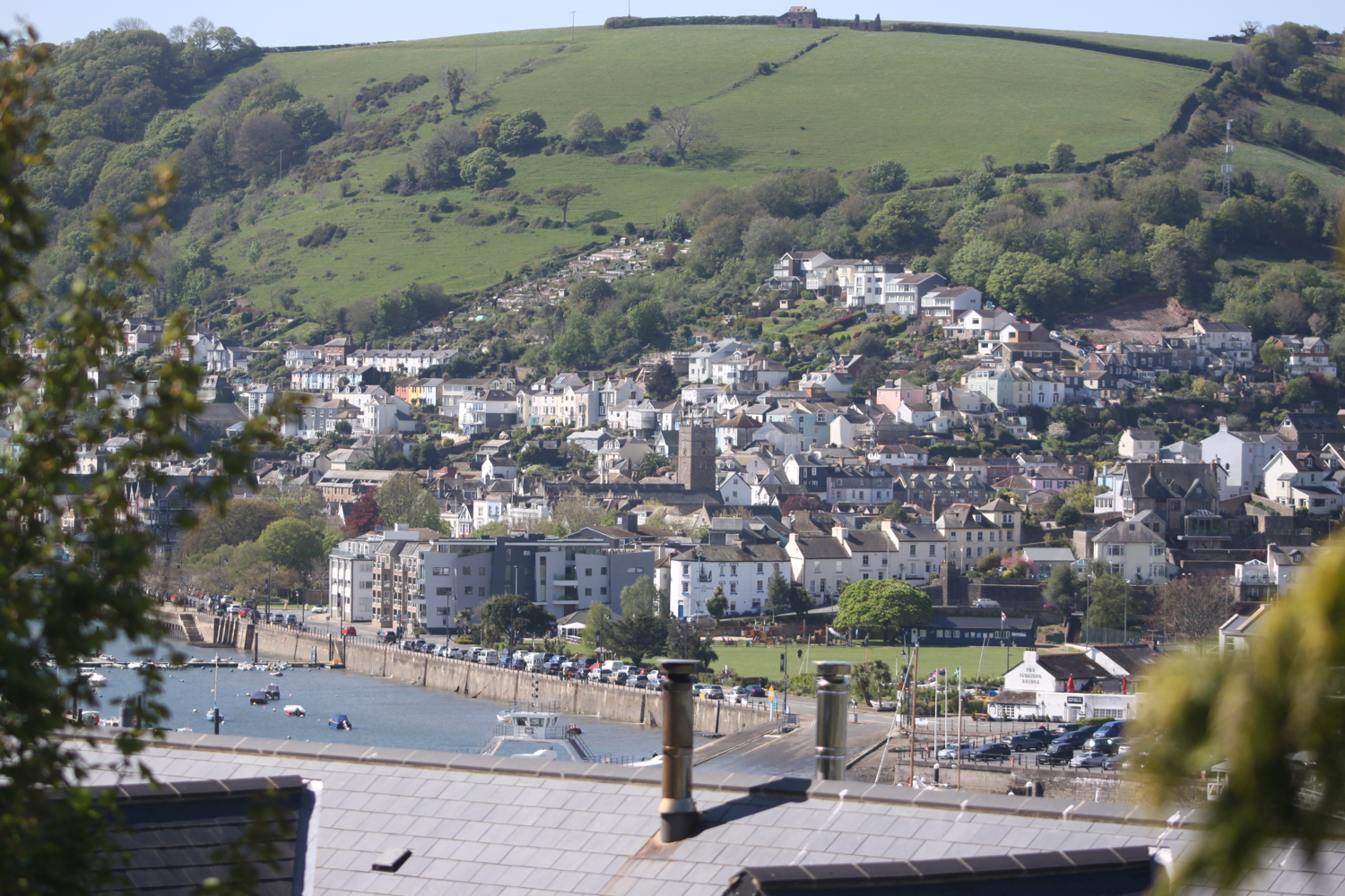 view over dartmouth