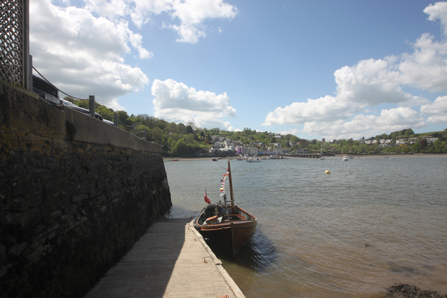 greenway and dittisham ferry