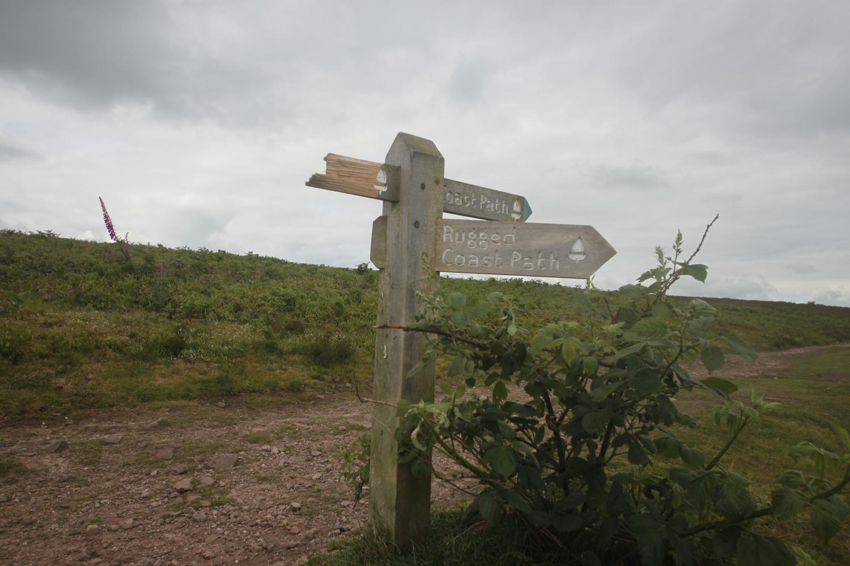 rugged coast path